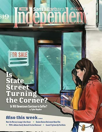 Santa Barbara Independent Cover - August 2019